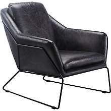 Greer Club Chair Black, 8809231