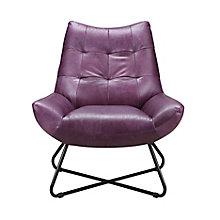 Graduate Lounge Chair Purple, 8809239