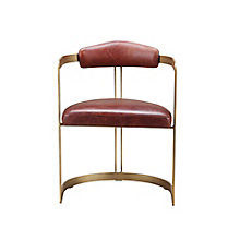 Downie Leather Chair, 8823453