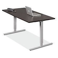 "Deluxe Electric Adjustable Height Desk - 60""W x 30""D, 8822592"