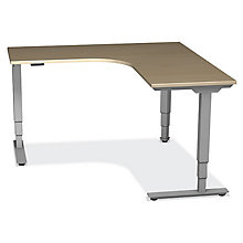 SitStand Right Corner Adjustable Height Desk , 8822605
