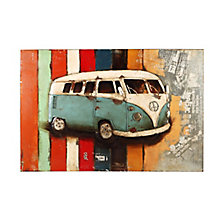 Vintage Westfalia Wall Décor, 8809247