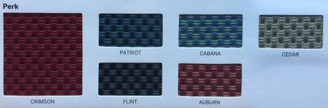 Perk Fabric options