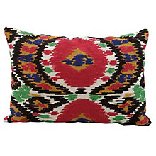 "kathy ireland by Nourison Ikat Pattern Accent Pillow - 20""W x 14""H, 8803804"