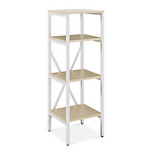 "Brite Four Shelf Bookcase - 16"" W x 16"" D, 8827749"
