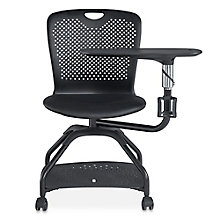 Lesson Swivel Tablet Chair, 8827758