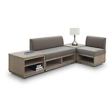 Four Piece Modular Table and Seating Set, 8825355