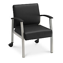 Compass Guest Chair with Arms and Casters, 8807989