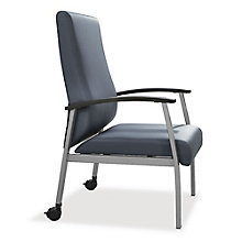 Compass High Back Guest Chair with Arms and Casters, 8807991