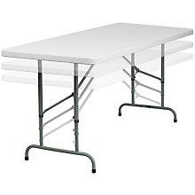White Plastic folding table, 8812372