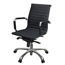 Modern Bonded Leather Task Chair, REN-10455