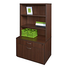 "Sandia Low 2 Drawer Lateral File with Hutch - 30""W, 8801584"