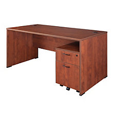 "Sandia Computer Desk with Mobile File - 66"", 8801594"