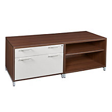 "Modern Low Storage and File Credenza - 60"", 8801976"
