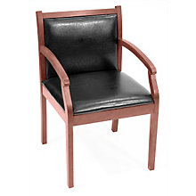 Regent Guest Chair with Vinyl Upholstery, REN-9875V