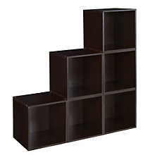 Cubo Set of Six Stackable Storage Cubes, 8803500