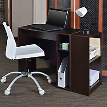 Niche Compact Desk with Two Shelf Bookcase, 8803486