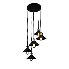 Renata Circular 5 Light Pendan, 8809326