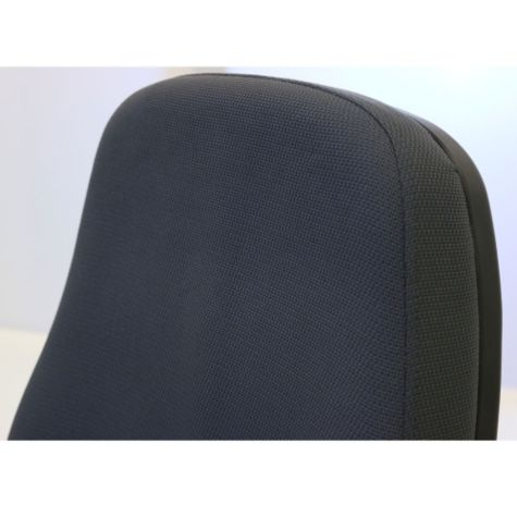 Close up of seat back