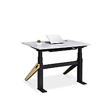 "Bend Height-Adjustable Desk - 48""W x 27""D, 8828197"