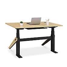 "Bend Height-Adjustable Desk - 60""W x 27""D, 8828196"