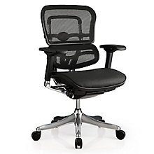 Ergo Elite Mesh Mid Back Task Chair, 8813851