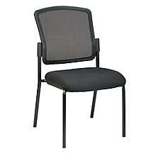 Dakota2 Armless Mesh Back Fabric Seat Stack Chair, 8813855