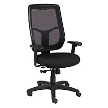 Apollo Mesh Back Fabric Seat High Back Chair, 8813856