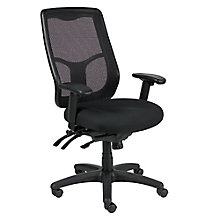 Apollo Mesh Back Fabric Seat Ergonomic High Back Chair, 8813857