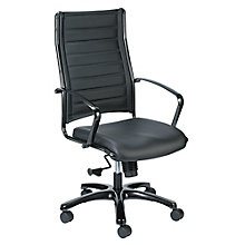 Europa Leather Executive Chair, 8813859