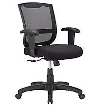 Maze Mesh Back Fabric Seat Task Chair, 8813860