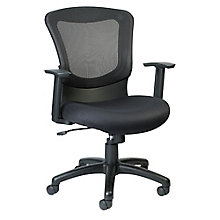Marlin Mesh Back Fabric Seat Task Chair, 8813861