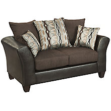 Sable Chenille Loveseat, 8812388