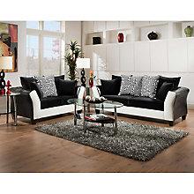 Black Velvet Living Set, 8812392