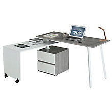 Multi-Positional Modern Desk, 8812840