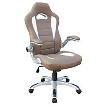 Sport Office Chair w/Flip Arms, 8812856
