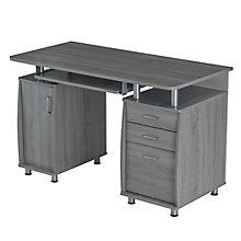 Computer Desk w/Storage, 8812842