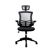 Chair w/Headrest & Flip Arms, 8812868