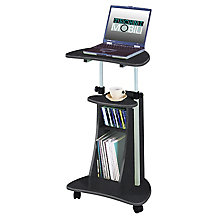 Sit/Stand Cart w/Storage, 8812850