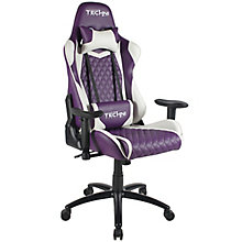 Two Tone Fabric Ergonomic Gaming Chair, 8826406