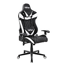 Two Tone Fabric Ergonomic Gaming Chair, 8826405