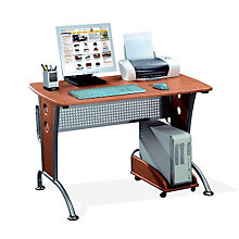 Dark Honey Ergonomic Computer Desk, RTP-8338