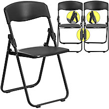 Black Folding Chair, 8812425