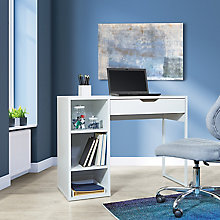 "Desk with Storage 40""W, 8828676"