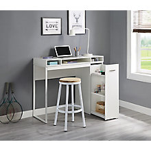 "Desk with Storage 47""W, 8828677"