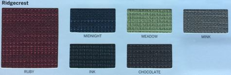 Ridgecrest Fabric options