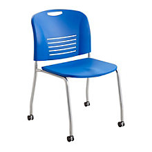 Vy Armless Mobile Stack Chair, SAF-11134
