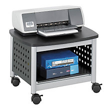 Mobile Underdesk Printer Stand, SAF-1855BL