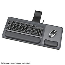 Sitting or Standing Height Keyboard Tray, SAF-2196