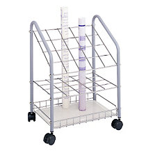 Mobile Wire Roll File - 20 Compartments, SAF-3091